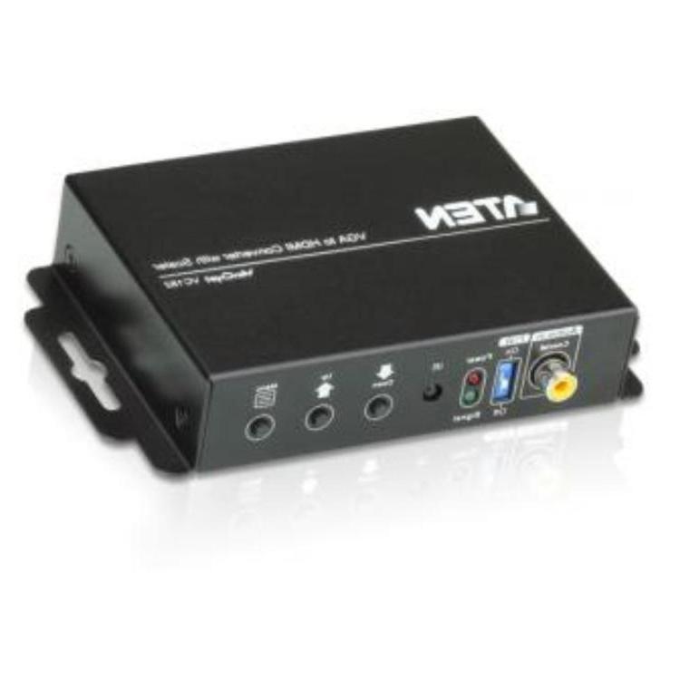 VGA naar HDMI omvormer - Met video scaler Max. Video Resolutie: 1920x1200,