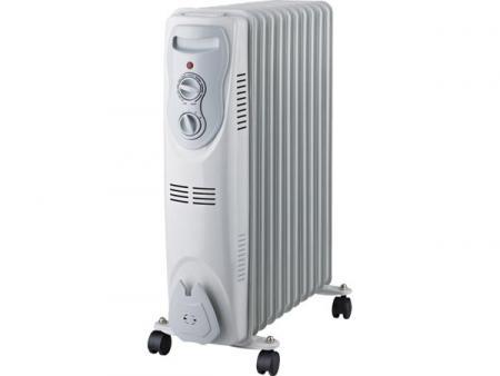 Image of Oliebadradiator - 2500 W - 11 Elementen