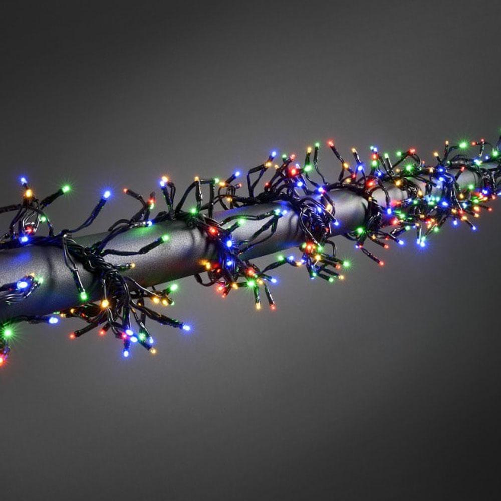 Image of Micro-lichtketting Buiten Werkt op het lichtnet 760 LED Bont Verlichte lengte: 4.5 m Konstsmide 3792-500