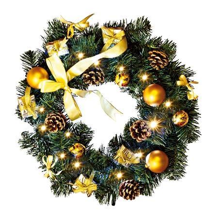 Image of Kerstkrans binnen - Goud - Best Season