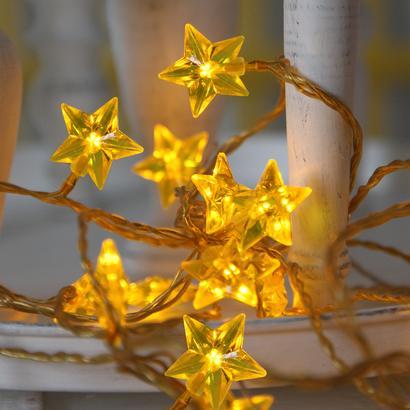 Image of Kerst decoratieverlichting - Geel - Geschikt voor binnen - Best Season