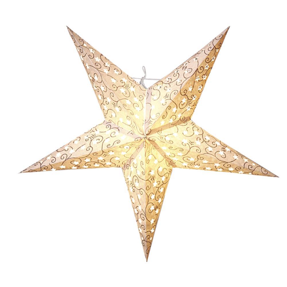 Kerstster - Kerstster - Brons, Type: Papier, Toepassing: Binnen ...