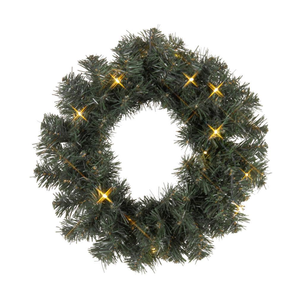 Image of Kerstkrans buiten - Warm wit - Best Season