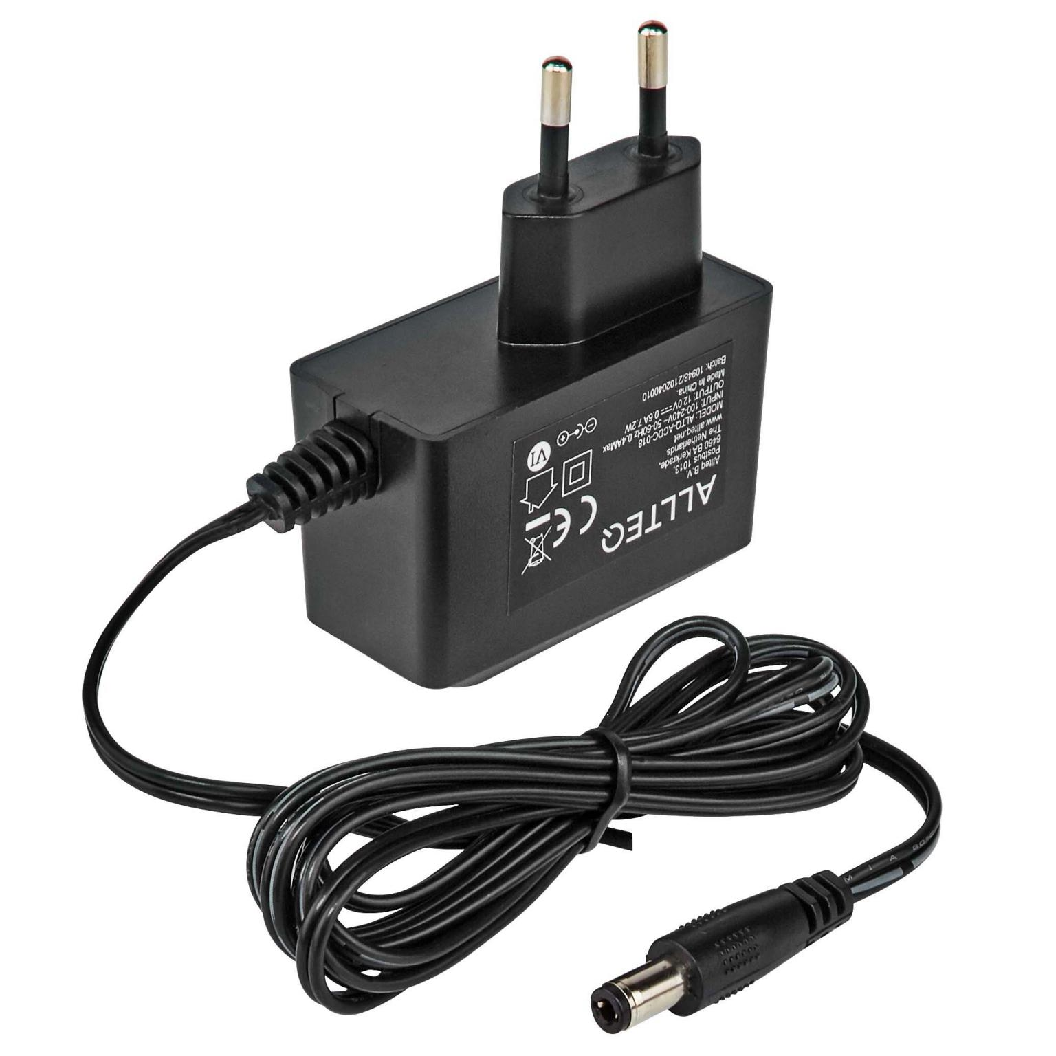 Universele ac dc adapter Spanning uit: 12 Volt