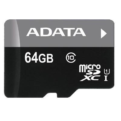 Image of Adata Micro SD Class10 UHS-I CL10 64GB