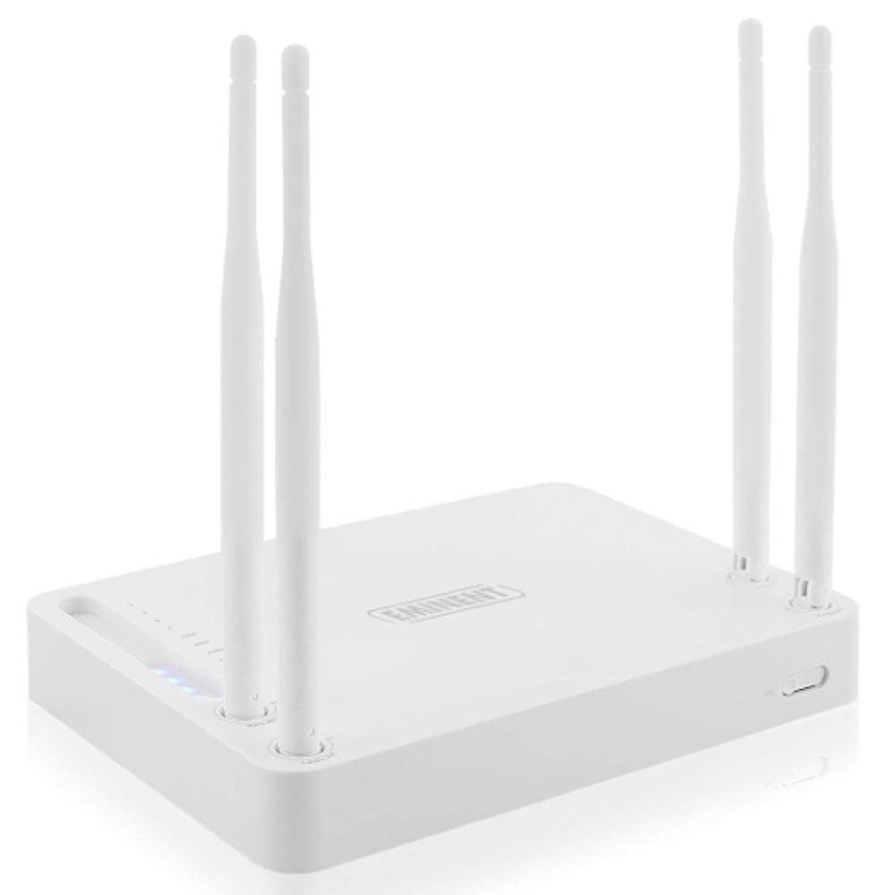 Draadloze router - 1200 Mbps Snelheid: 300Mbps (2.4 GHz) + 867Mbps (5