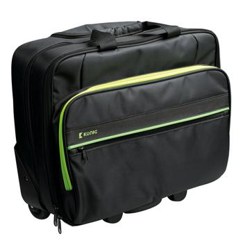 König CSNBBT100GR Laptoptrolley 15''-16'' Lime