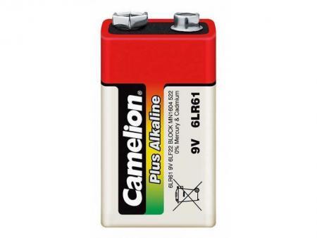 Image of Batterie Camelion Alkaline 9V (1 piece) - Camelion
