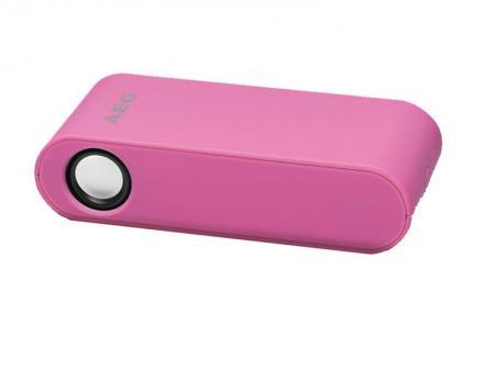 AEG Wireless Induktion Stereo Speaker LBI 4719 (Pink) - AEG