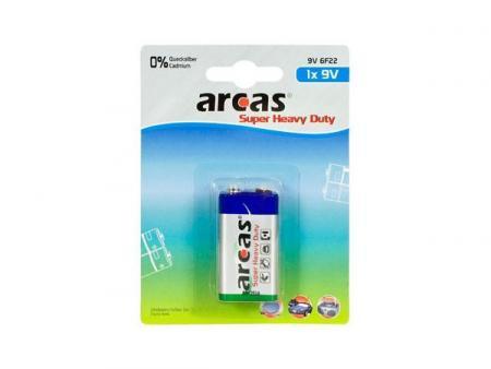 Image of Batterie Arcas 9V Block (1 St.)