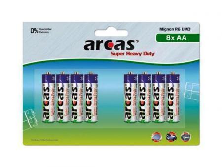 Image of Batterie Arcas R06 Mignon AA (8 St.)