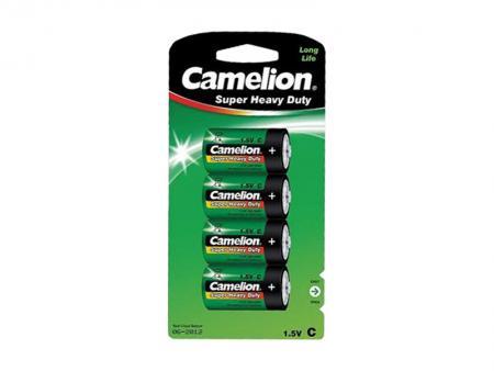 Image of Batterie Camelion Super Heavy Duty R14/C (4 pieces) - Camelion