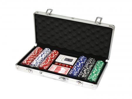 Image of MaKant - 300 Poker Chips with Alu Case, 11.5 g, Chips DELUXE (5768)