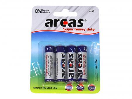 Image of Batterie Arcas R06 Mignon AA (4 pieces) - Arcas