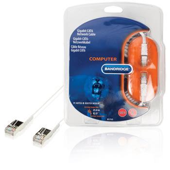 Multimedia-Netzwerk-Kabel CAT6 25,0 m Bandridge