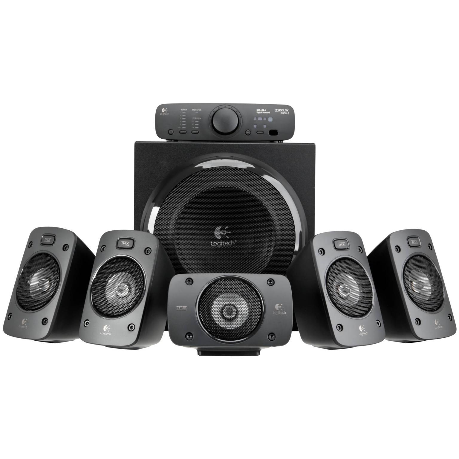 Logitech Lautsprechersystem Surround Sound Speakers Z906