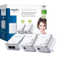 Image of Devolo 500 WiFi Network Kit Powerline
