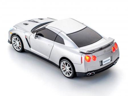 Image of Wireless 2,4 GHz Mouse Nissan GT-R (R35) (Silber)