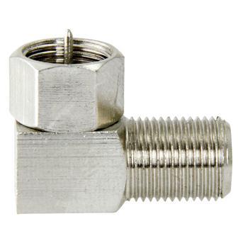 Image of F-connector met schroefdop - Macab