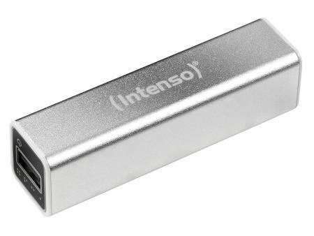 Intenso Powerbank A2600 Akku 2600mAh (Silber) Intenso