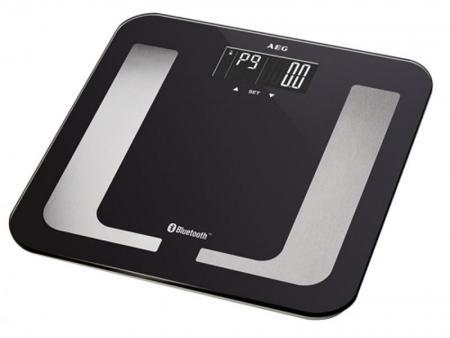 AEG 8in1 Diagnostic scale with Bluetooth und App PW 5653 BT (black) -