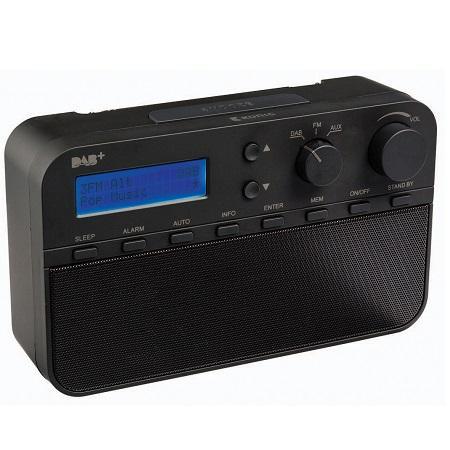Image of DAB+ radio zwart