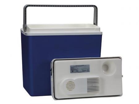 elektrische koelbox 20 6 l koelbox voor auto blauw. Black Bedroom Furniture Sets. Home Design Ideas