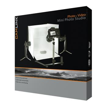 Image of Camlink minifotostudio LED-verlichting 40x40x40cm