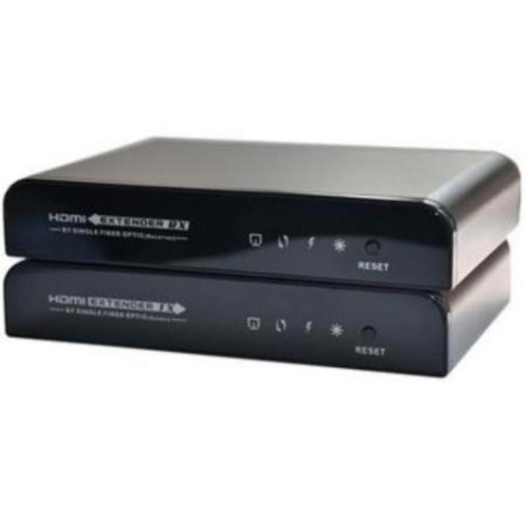 HDMI verlenger via SC Glasvezel Max. kabellengte: 20.000 meter