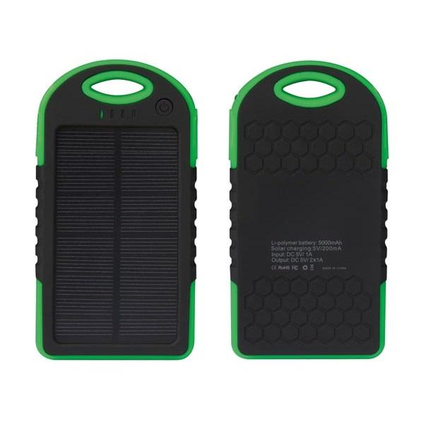 Powerbank - 5.000 mAh - Groen