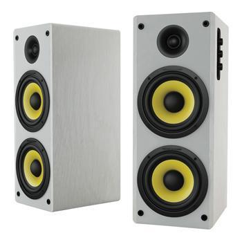 Image of Bluetooth-Speaker 2.0 Hoch 70 W Wit/Geel