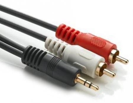 Jack kabel 3.5mmJack - Tulp kabel - 2 meter 2 meter