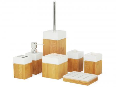Image of Badkamer accessoire set - Bamboe - MK Bamboo
