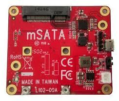Raspberry PI - mSATA adapter