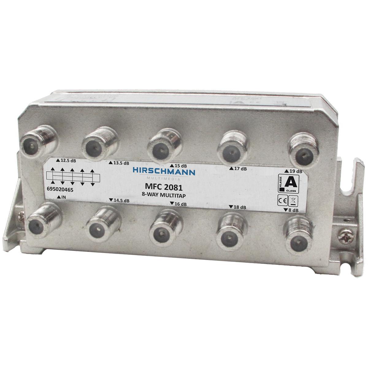 Image of CATV-Splitter 6.5 DB / 5-1218 MHz - 8 Uitgangen
