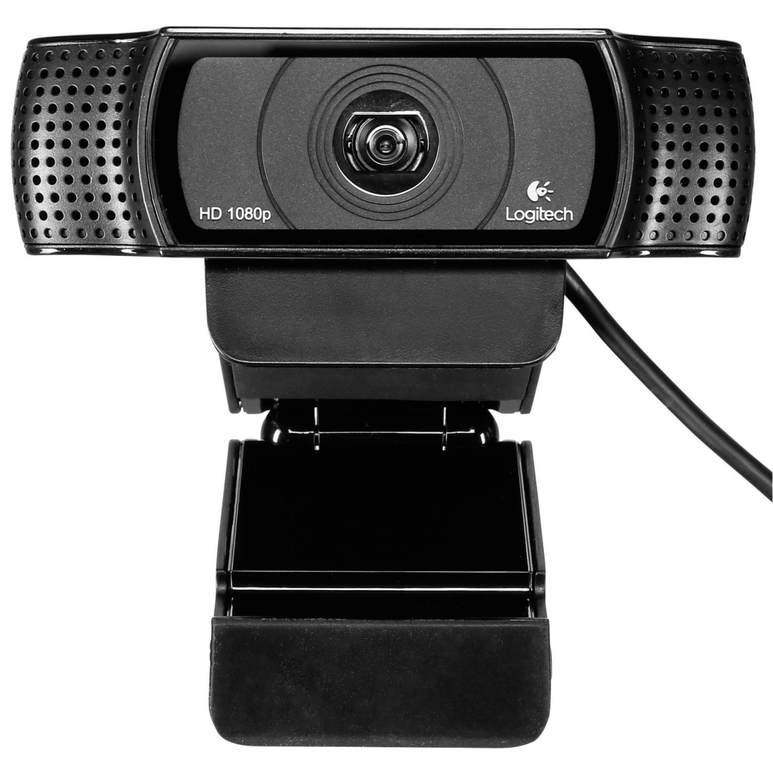 Logitech Webcam HD Pro C920 for Business,USB 2.0 schwarz