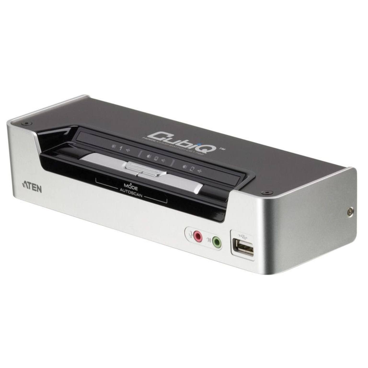 Image of 4-poorts USB HDMI KVM schakelaar - Aten - Aten