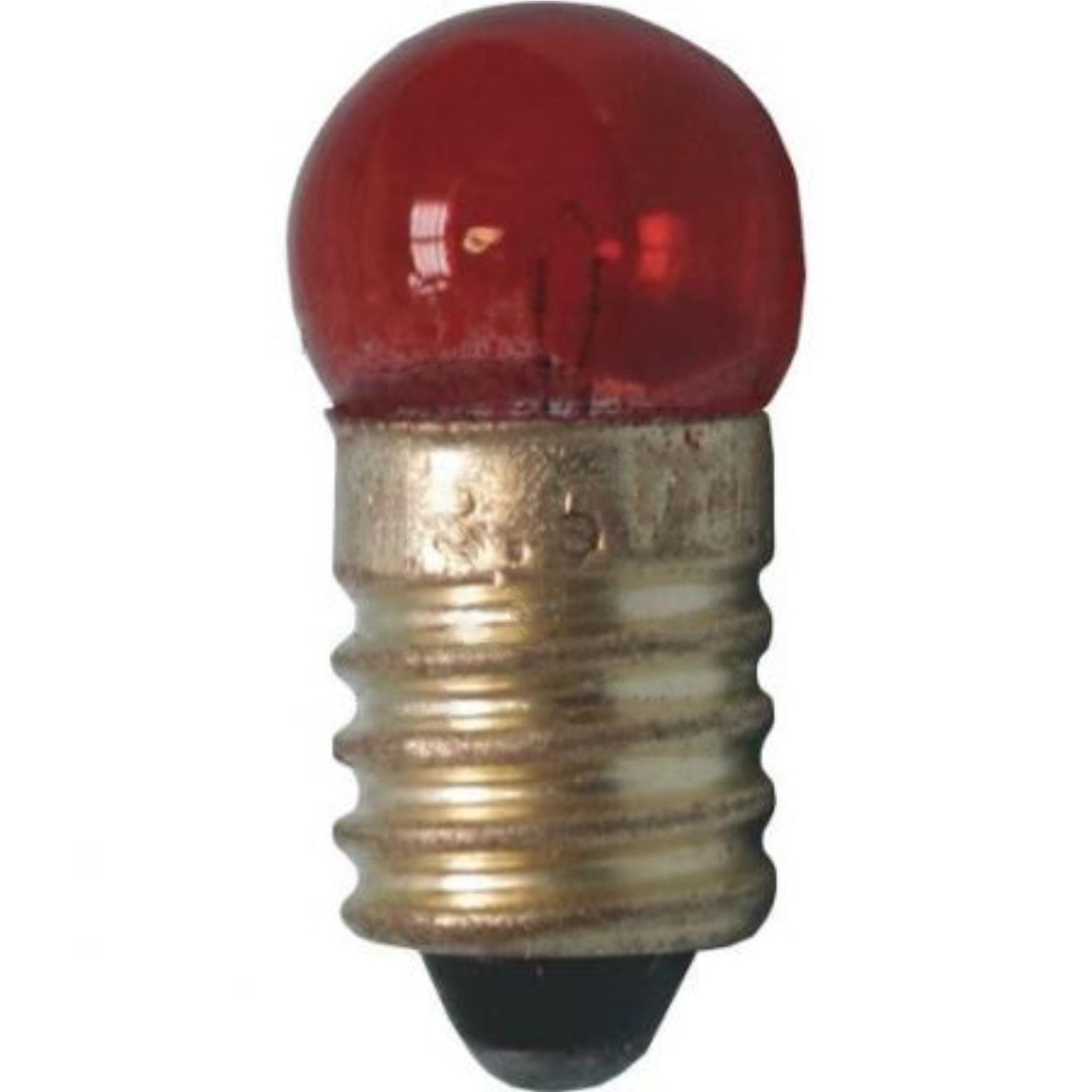 Image of E10 Gloeilamp - E10 Gekleurde lamp - Techtube Pro