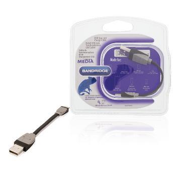 USB Sync und Charge Kabel USB A männlich 8-Pins Blitz männlich 0,1