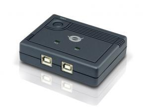 Conceptronic CUSBSHARE2P 2-Port Sharing Switch USB - Conceptronic