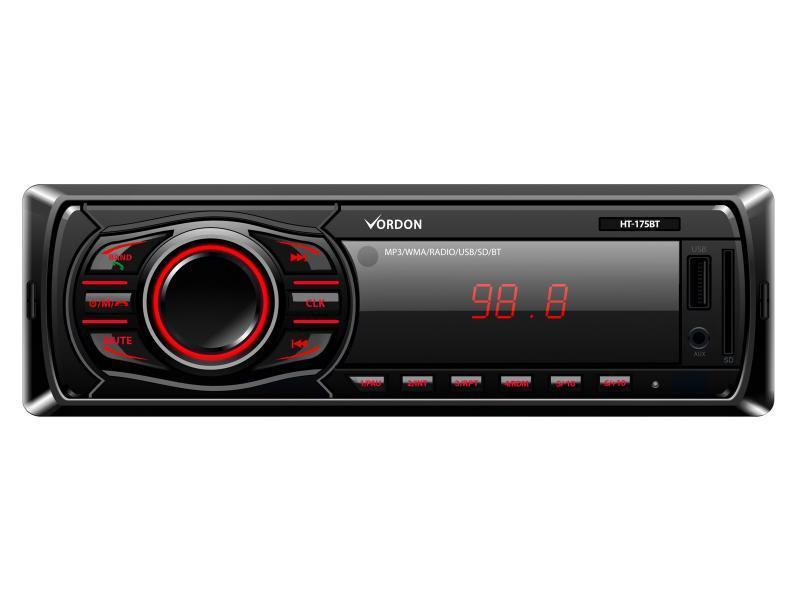 Vordon Auto Radio HT-165s mit AUX-USB-SD Kein Hersteller