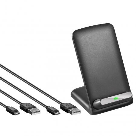 Image of Goobay 44167 Wireless Charger (Thuislader) Uitgangsstroom (max.) 1000 mA 1 x Qi-standaard