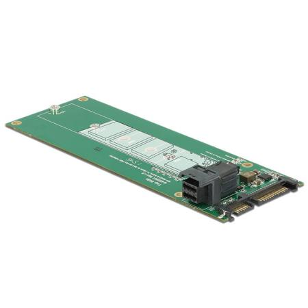 Image of 22-Polig SATA naar 36-Polig SFF-8643 + M.2 NGFF adapter - Delock