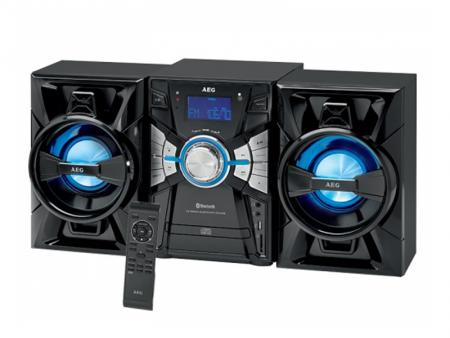 AEG Bluetooth-Music-Center CD/Mp3/USB/BT MC 4465 BT (black) - AEG