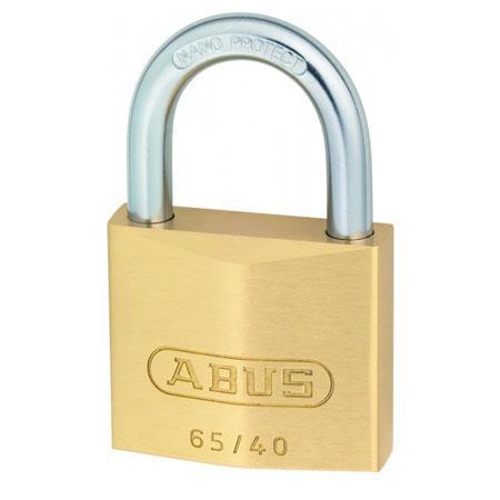 ABUS messing hangslot - 65/40 - ABUS