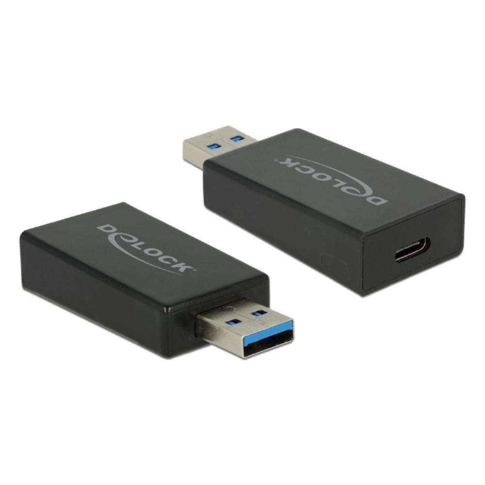 USB A naar USB C adapter - 3.1 Aansluiting 2: USB A Male