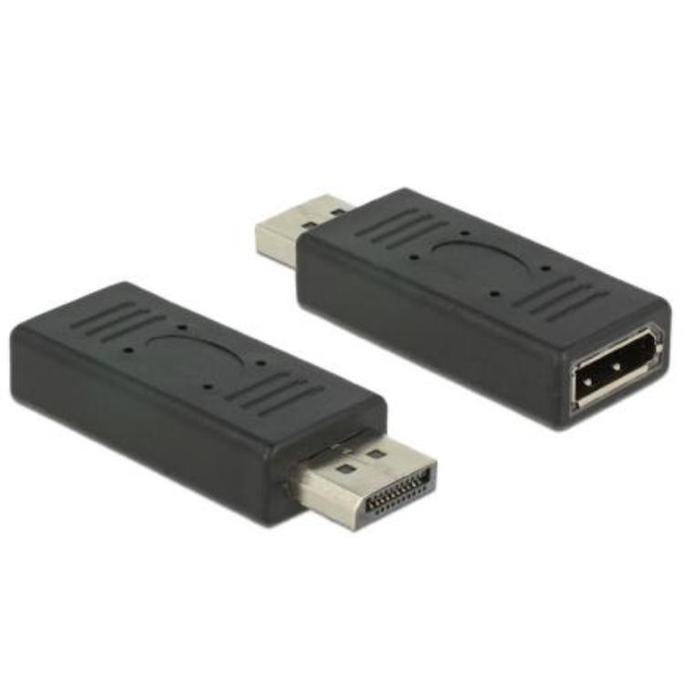 Image of DeLOCK 2xDisplayport 1.2 Displayport 1.2 Displayport 1.2 Zwart