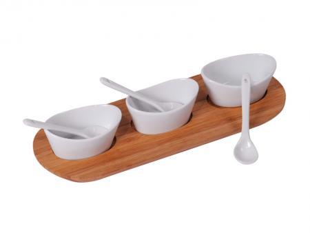 Image of Dip schaal set - Bamboe - MK Bamboo