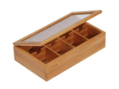 Image of MK Bamboo WARSZAWA - Teebox mit 8 Fächern