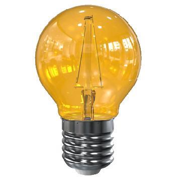 Image of E27 filament lamp - geel - Tronix